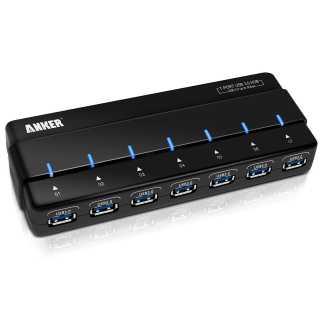 USB-Hub mit microSD Adaptern